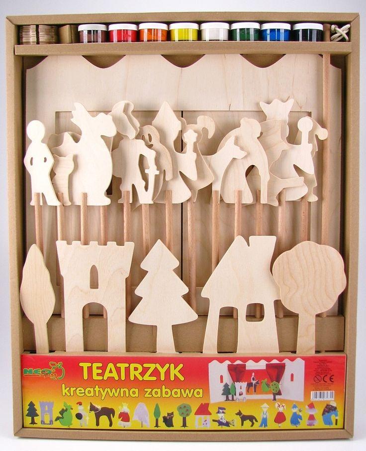 Drewniany teatrzyk, Neo-Spiro   ZABAWKI \ Zabawki drewniane ZABAWKI \ Odgrywanie ról \ Teatrzyki dla dzieci ZABAWKI \ Zabawki kreatywne, zrób to sam \ Malowanie, rysowanie NA PREZENT \ Prezent uniwersalny Neo-Spiro   Hoplik.pl wyjątkowe zabawki