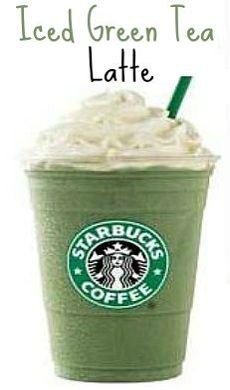 Sunglasses And Starbucks: Starbucks In Making: Iced Green Tea Latte