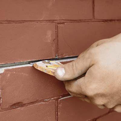 Exterior Brick Mortar Repair How to Repair Mortar JointsHow to