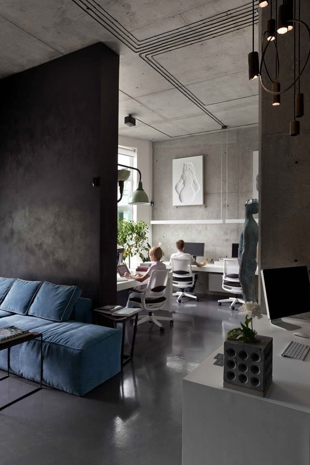 Office and showroom of architectural workshop Sergey