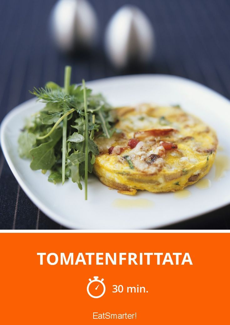 Low Carb: Tomatenfrittata - smarter - Zeit: 30 Min. | eatsmarter.de