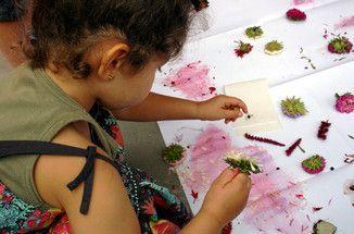 Farben aus der Natur. Ein Projekt mit Kita-Kindern. – Linda B