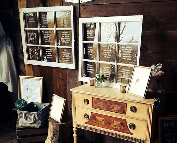 Check out Hand Drawn, Calligraphy, Rustic 9 and 12-Panel Window Panes for Seating Charts on coastalcalligraphy