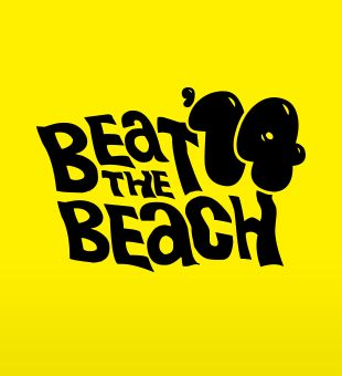 'Beat the Beach' logo design