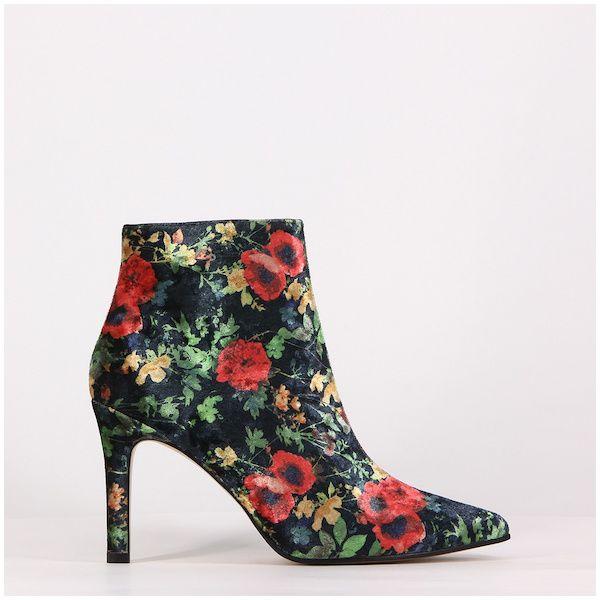 Catálogo Zapatos Lodi Otoño Invierno 2018 floreado