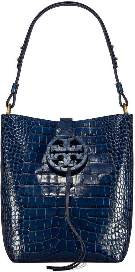 9971b4efa Tory Burch MILLER EMBOSSED HOBO  528  bags  shoulderbag  style  handbags   bolsa  affiliate  toryburch  shopstyle  mystyle