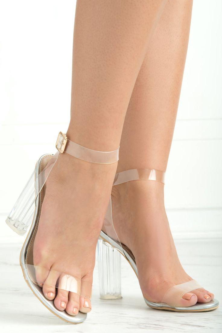 Unbreakable Clear Heels