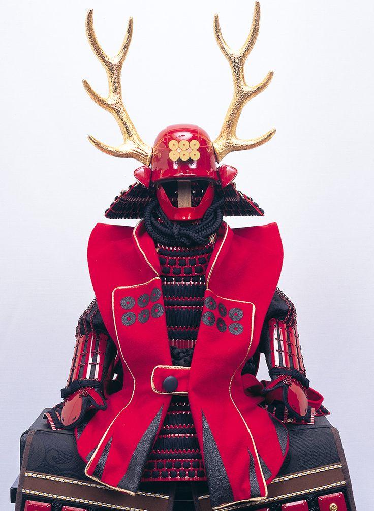 ICHIZO/Armor of Yukimura Sanada. samurai helmet with antlers