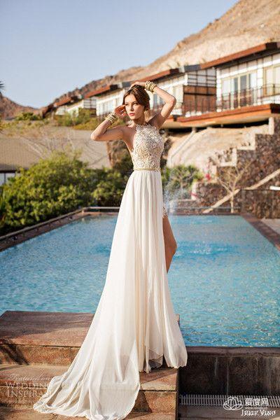 Платья для свадьбы на пляже