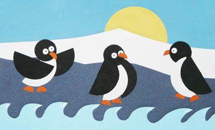 bricolage-pingouins-banquise-papier