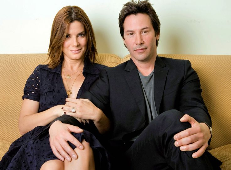 Sandra Bullock and Keanu Reeves