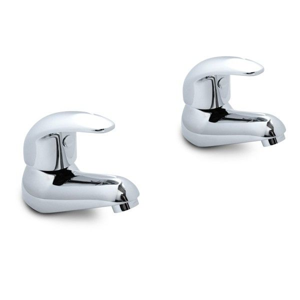 The Murcia Lever Basin Taps, priced at £33.95. This pair of Murcia Lever Basin taps come equipped with quarter-turn ceramic disc technology and are manufactured from solid brass finished in bright chrome. A simple, elegant design, the Murcia taps are suitable for system pressures between 0.2 and 3.0 Bar. Order now at - http://www.taps.co.uk/murcia-lever-basin-taps.html