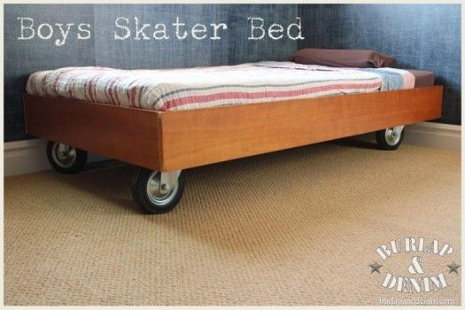 bed on wheels