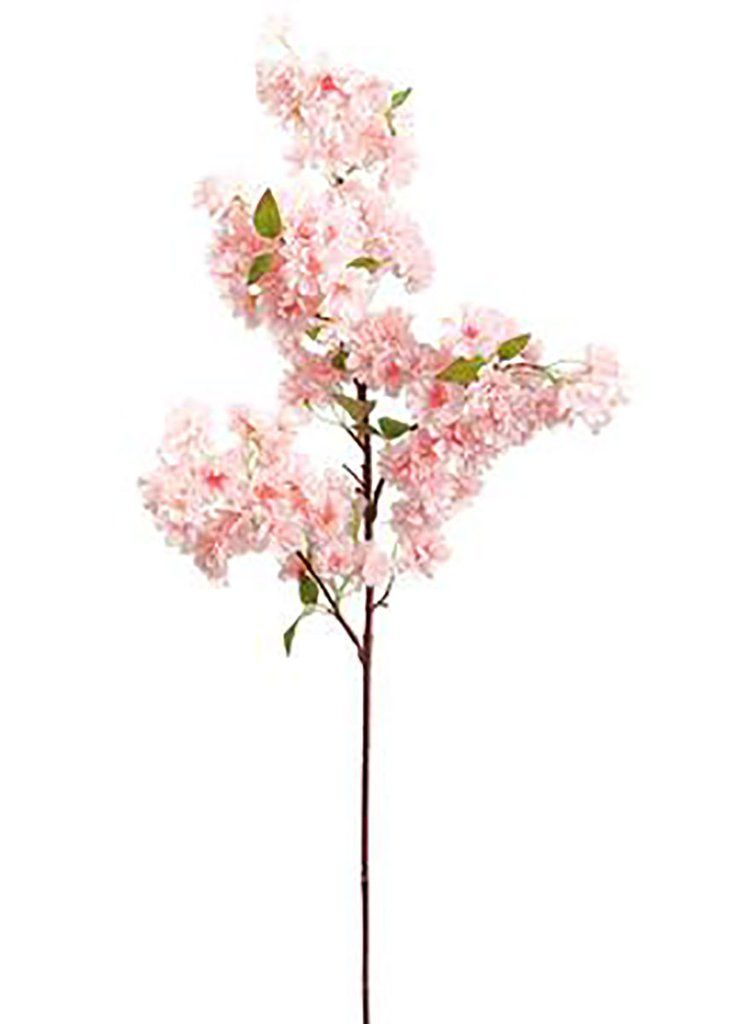 Pink Faux Cherry Blossom Flower Branch 40 In 2021 Artificial Flowers Wedding Cherry Blossom Flowers Blossom Flower