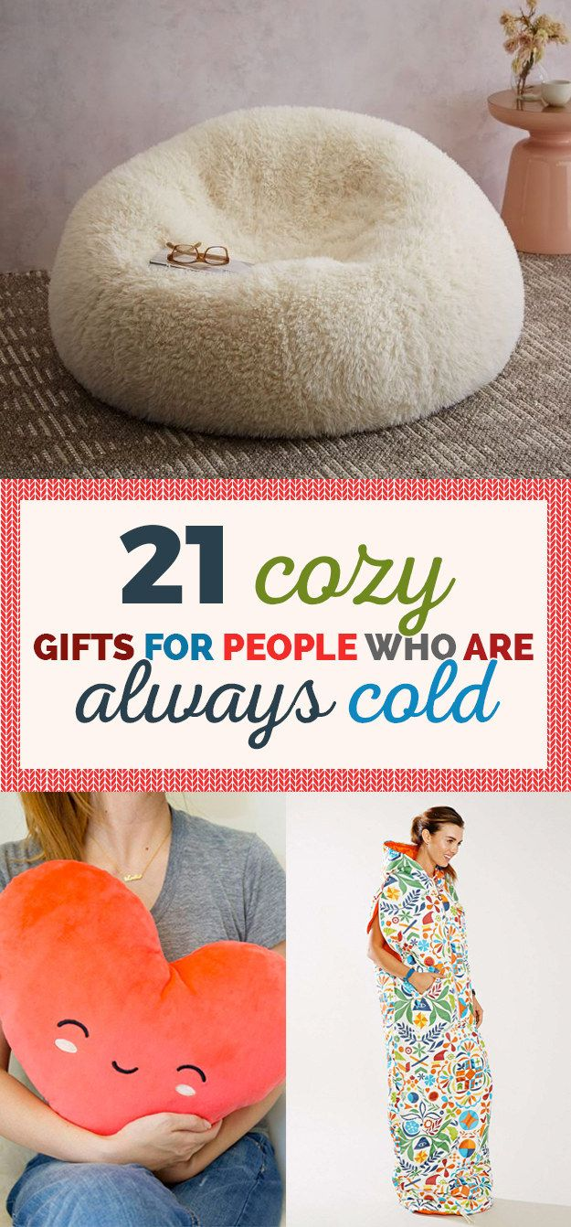 21 Cozy Gifts For People Who Are Always Cold