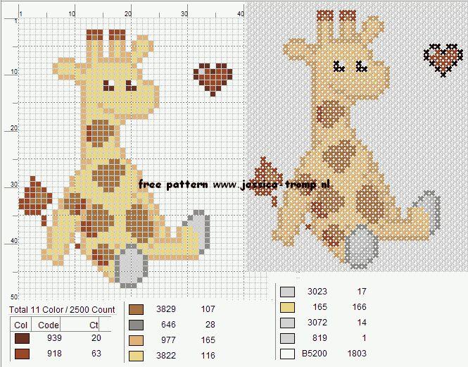 borduren gratis borduurpatronen handwerken cross-stitching needlework free…