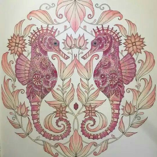 538 Best Lost Ocean Coloring Book Images On Pinterest
