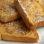 Frosted Cinnamon French Toast