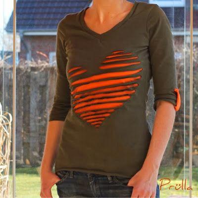 "Prülla: Leni PePunkt Shirt ""Nr. 1"" - DIY Heart"