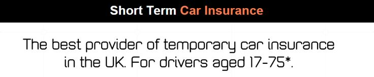 Temporary Insurance From One Day Car Insurance Company