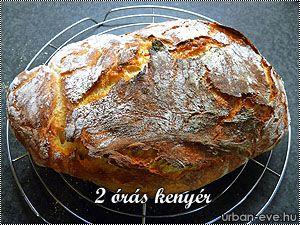 2 órás kenyér