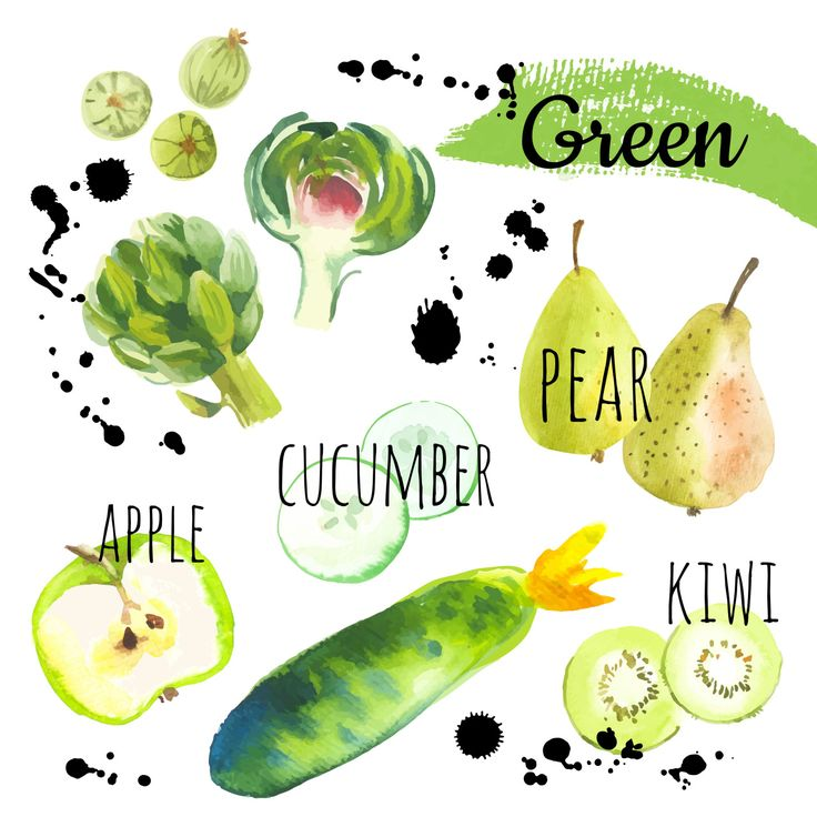 Свежие органические продукты. Набор различных фруктов, овощей и ягод: крыжовник…