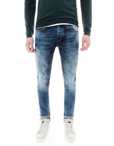 Bershka Romania - Stonewashed slim fit jeans