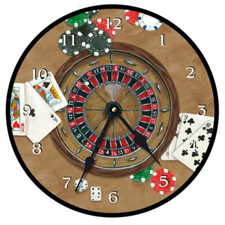 Lexington Studios The Gambler Wall Clock - 23115R
