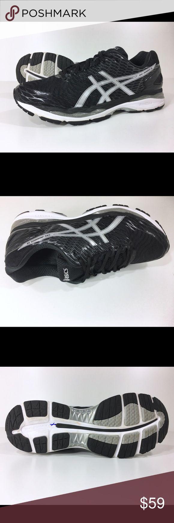 Asics Men Gel-Nimbus 18 Running Shoe 12.5 D Black Asics Men's Gel-Nimbus 18 Running Shoes  Our Price: $59 Regular Price: $150 - save $91 (60%) _________________________________________  Size: 12.5 (D, M)  Color: Black _________________________________________  Condition: Excellent _________________________________________  Features & details  • Synthetic, Mesh  • Import  • Gel cushioning  • EVA foam midsole  • Rubber outer sole  • Lightweight  • Breathable   Product information  Men's  Asics…