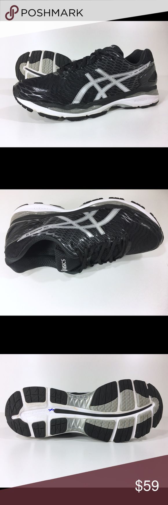 Asics Men Gel-Nimbus 18 Running Shoe 12.5 D Black Asics Men's Gel-Nimbus 18 Running Shoes  Our Price: $59 Regular Price: $150 - save $91 (60%) _________________________________________  Size: 12.5 (D, M)  Color: Black _________________________________________  Condition: Excellent _________________________________________  Features & details  • Synthetic, Mesh  • Import  • Gel cushioning  • EVA foam midsole  • Rubber outer sole  • Lightweight  • Breathable   Product information  Men's  Asics…
