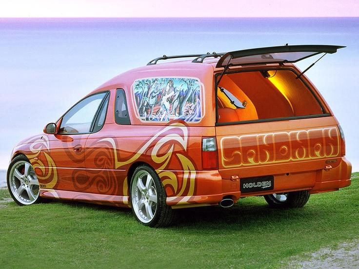 The original Holden concept re-released Sandman Panel Van