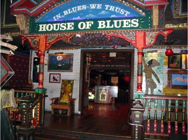 House of blues chicago folk art