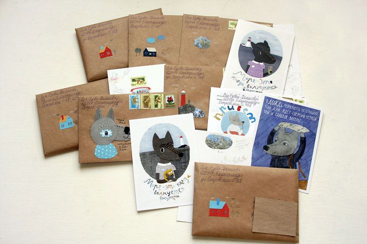 Packing for mailings (Part 2) on Behance
