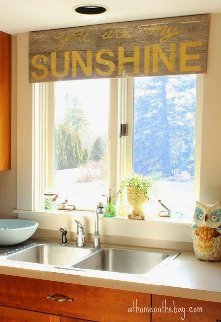 Unique Kitchen Window Treatments