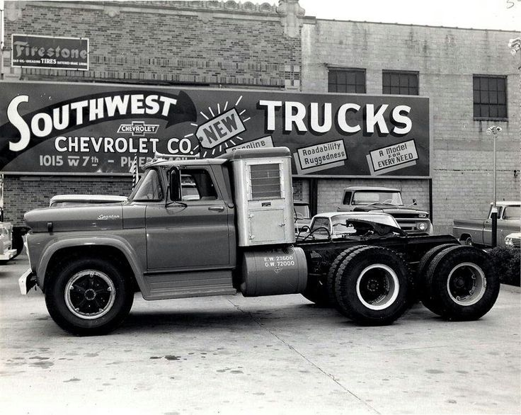 Texas Diesel Store >> 60-61 CHEVY SPARTAN TANDEM AXLE WITH BOX SLEEPER AND 348 ...