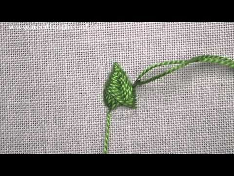 Raised Fishbone Stitch Video Tutorial – NeedlenThread.com