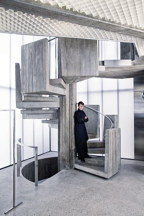 114 best escalier images on Pinterest Stairs, Construction and - avantage inconvenient maison ossature metallique