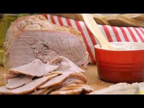 Szynka domowa - homemade ham
