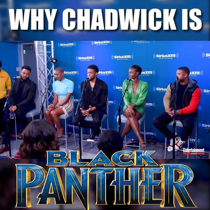 The Reason Why Chadwick Boseman Is The Black Panther!  He just doesn't do it for the money or for the fame.  He does it for the people!  Salute!!  You Rocked It!! And Will keep Rocking it!! #superman #captainamericacivilwar #justiceleague #avengers #infinitywar #batman #ironman #spiderman #thor #thanos #theflash #wonderwoman #antman #guardiansofthegalaxy #gameofthrones #deadpool #dccomics #dc #marvel #dcextendeduniverse #marvelcinematicuniverse