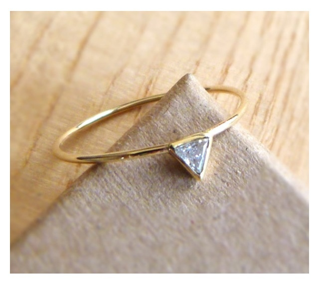 17 Best images about Simple Gold Engagement Rings on Pinterest