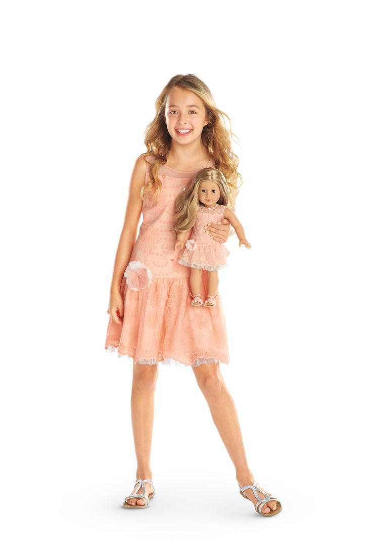 NEW! Spring dresses for girls and dolls.
