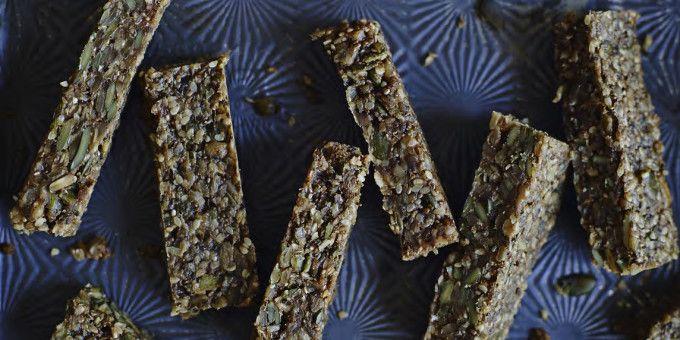I Quit Sugar - Seedy Energy Bars by Madeleine Shaw