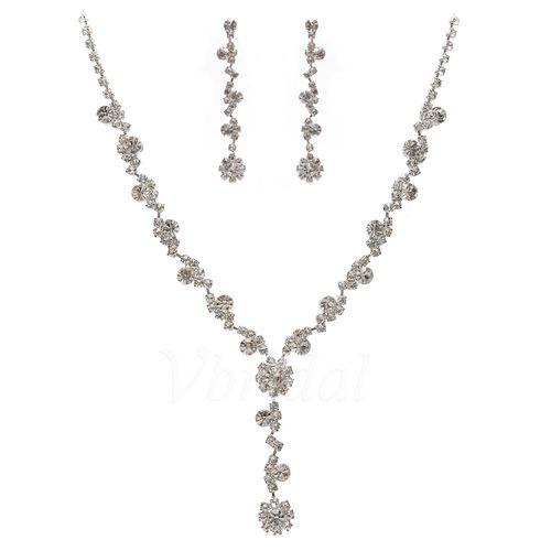 Bijoux - $15.99 - Mode Alliage avec Cristal Dames Parures (01105010969)