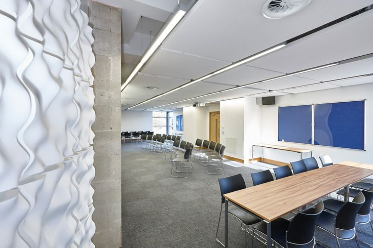 Rpg absorbers incorporating spotlights rpg waveform for Winchester architects