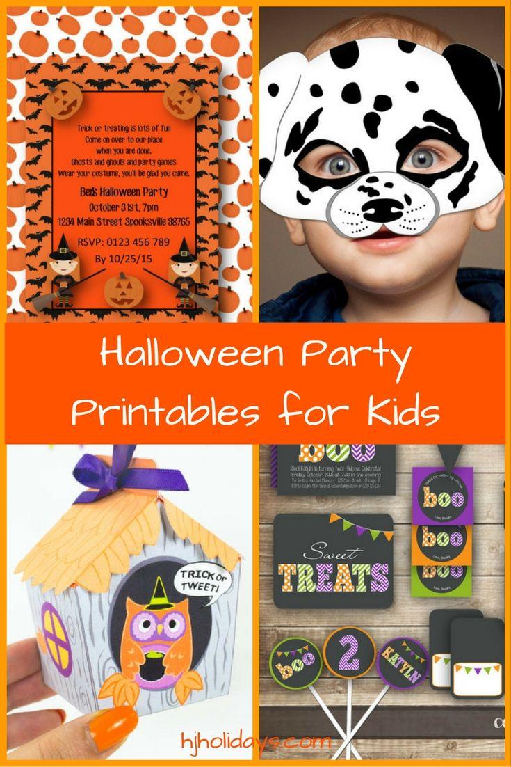 160 best halloween printables images on pinterest halloween