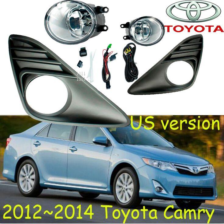 US Version! For CAMRY 2012~2014/2004~2009,Exterior Front bumper light fog lamps Original Fog Lights 1 set (L  R),Corolla Yaris