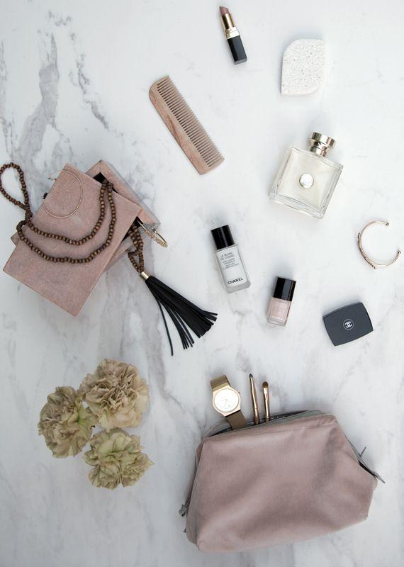 A.U Maison AW16. #aumaison #interior #homedecor #styling #danishdesign #bathroom #cosmeticbag #makeup #velvet