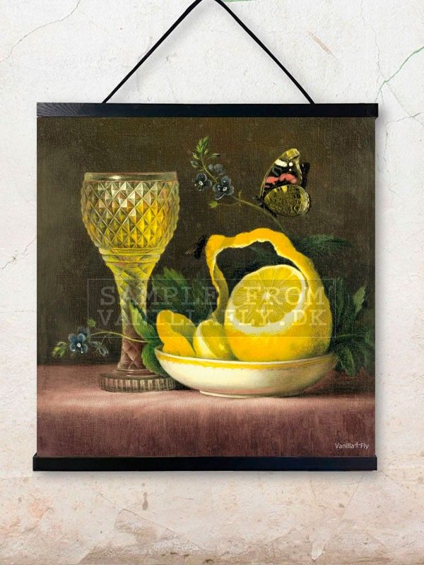 Poster limone 50x50 from VanillaFly