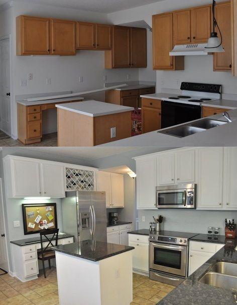 mutfak yenileme ornekleri oncesi ve sonrasi resimler boyama kaplama ve dolap yenileme (11)