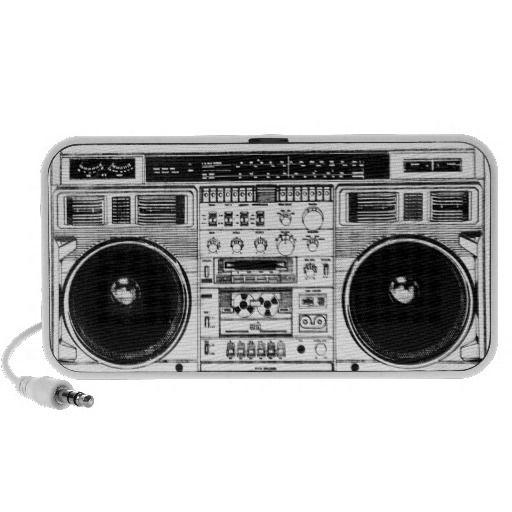Retro Boombox Speaker. get it on : http://www.zazzle.com/retro_boombox_speaker-166519775856598061?rf=238054403704815742&tc=pinterest